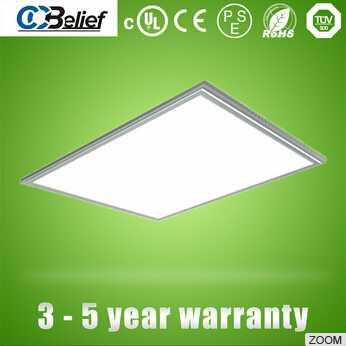5 year warranty no flicker Laser square 600x600 40w/50W/60W led panel light