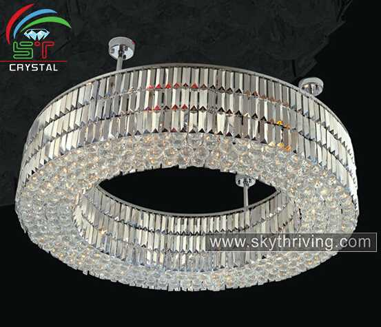 modern ring chandeliers