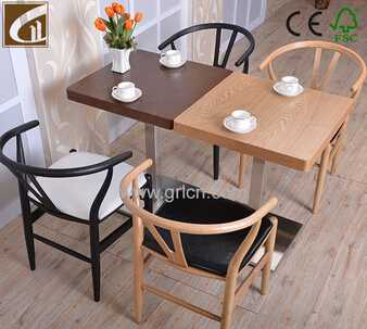 antique solid oak wood dining table sets/coffee table sets