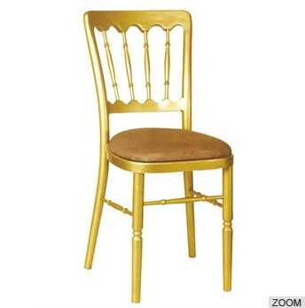 Used Aluminum chiavari chairs for sale