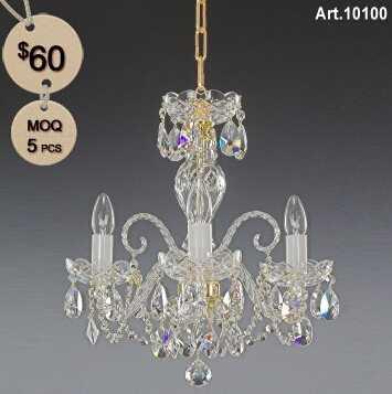 Bohemia Crystal Lamp with 3 Light