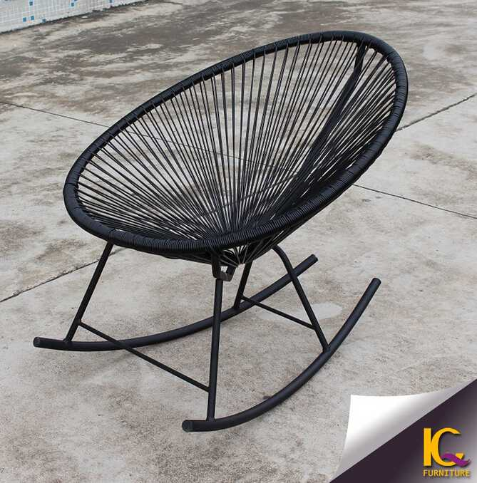 Outdoor single chair garden furniture antique rocking chair sofa design on sale