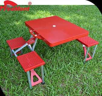 folding picnic table plastic chair/plastic study folding table/folding table plastic