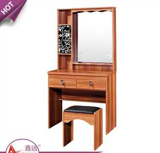 Wholesale bedroom furniture makeup dressers mirrored wooden cheap dressing table with drawers