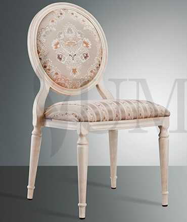 Wholesale wooden banquet dining chair elegant aluminum stacking Louis banquet chair