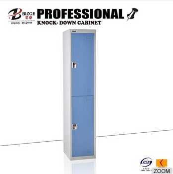 blue gray combination steel assemble cheap storage metal locker bins