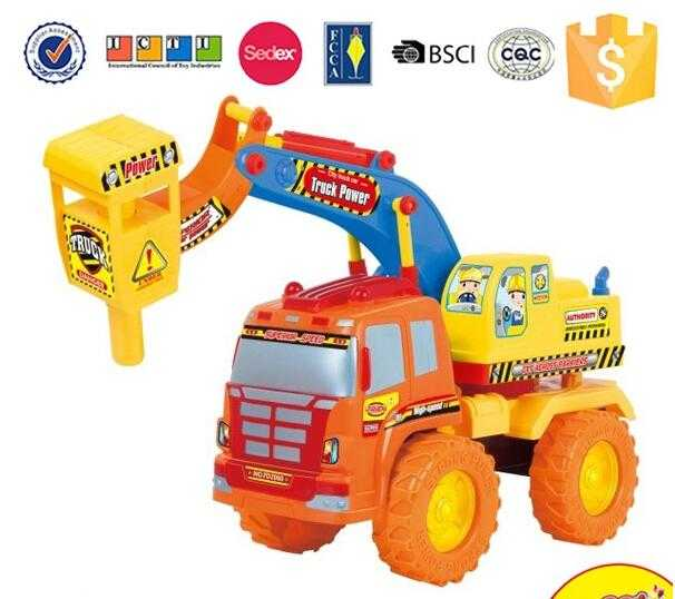 New product cheap plastic pull back truck toy