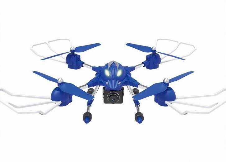 Headless 5.8GHz & wifi 720P FPV Alloy RC quadcopter toy with HD camera