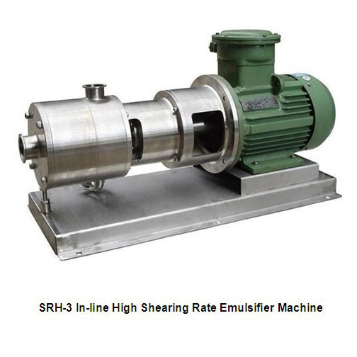 SRH Homogeneous & Emulsification Pump