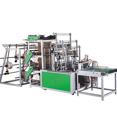 High Speed Three-layer Bag Making Machine Set