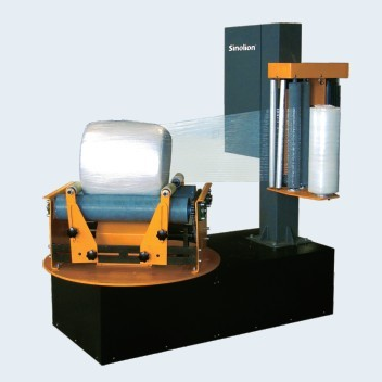 P500F Small reel stretch wrapping machine
