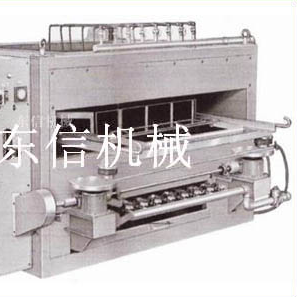Revolving granule baking machine