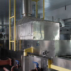 frying machine of instant noodle production line