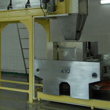 Feeder machine of instant noodle production line