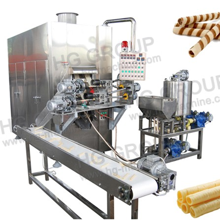 HWB Full automatic Multifunctional wafer stick machine