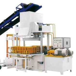 Curbstone making machine