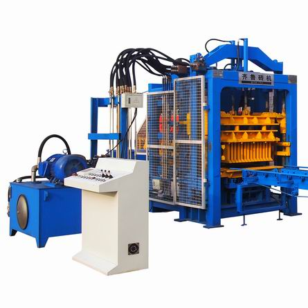 QT8-15 Brick Machine Production Line
