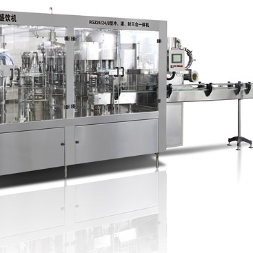 RCGF Juice & Tea Drink Filling Machine