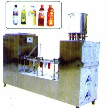 HF-SPJ Plastic Bottle Filling Capping Machine