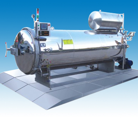 PLZ Hot Water Spray Autoclave