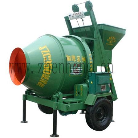 JZC350 climbing bucket concrete mixer