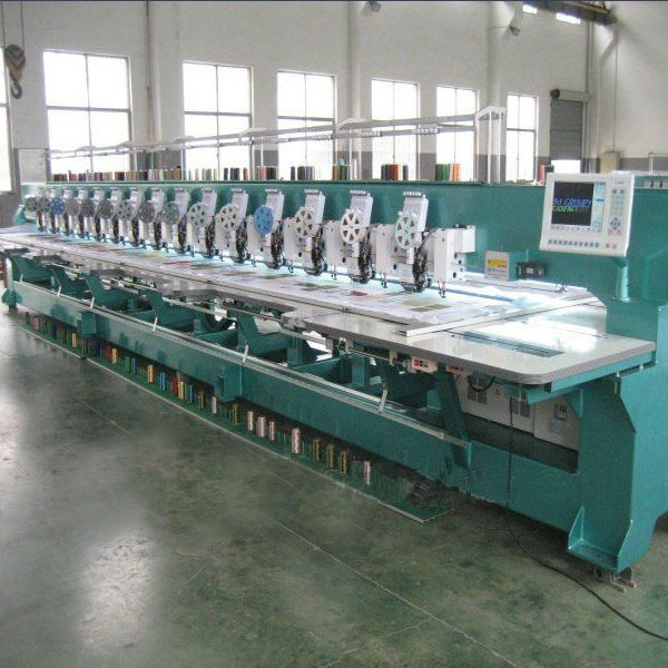 TP615 Flat Sequin Chenille Mixed Embroidery Machine