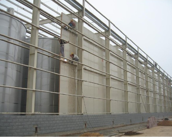 Prefabricated Insulation Panel Cold Storage