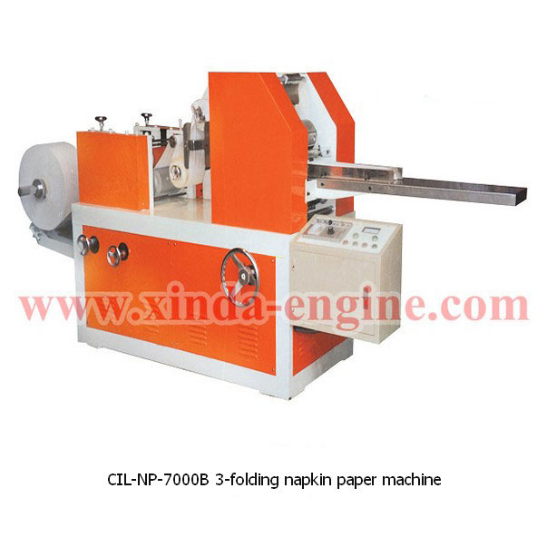 CIL-NP-7000B 3-folding napkin paper machine