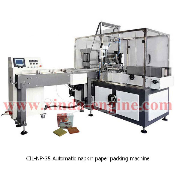 CIL-NP-35 Automatic napkin paper packing machine