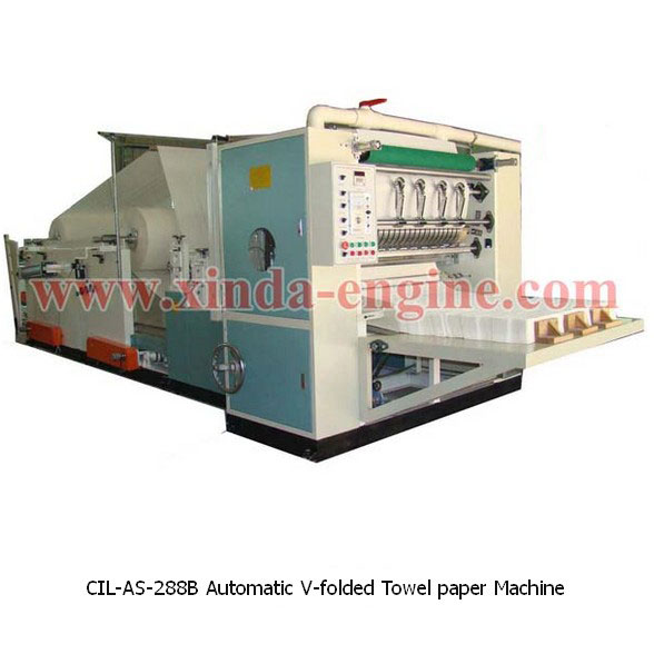 CIL-AS-288B Automatic V-folded Towel paper Machine