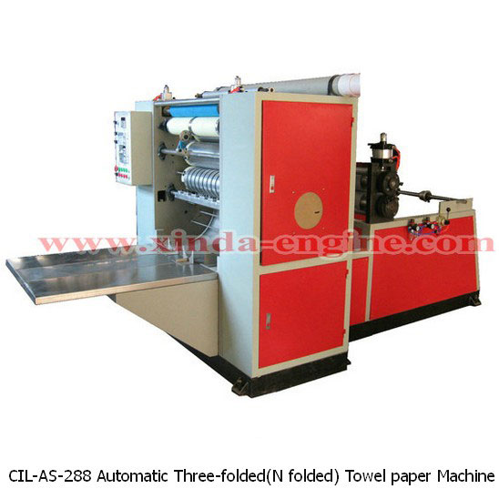 CIL-AS-288 Automatic Three-folded(N folded) Towel paper Machine
