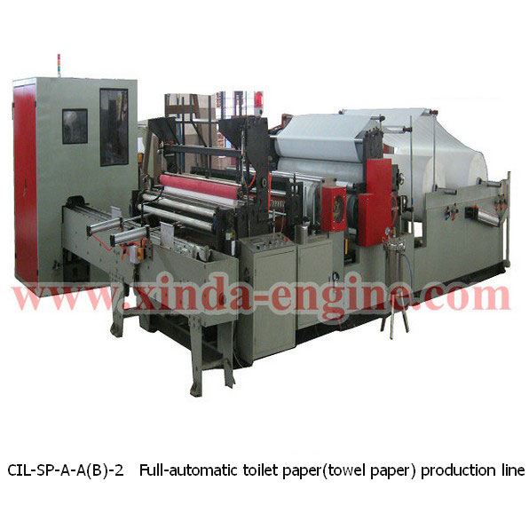 CIL-SP-A-A(B)-2 Full-automatic toilet paper(towel paper) production line