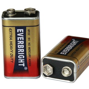 High Capacity 6F22 9V Battery