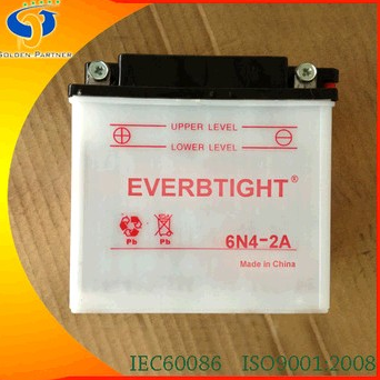 6N4-2A Battery for Motorcycle