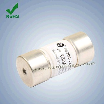 660VDC 250A Fast Fuse of Cylinder Tube