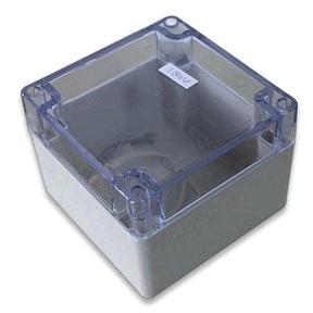 Clear Lid Plastic Waterproof Dustproof Electronic Enclosure