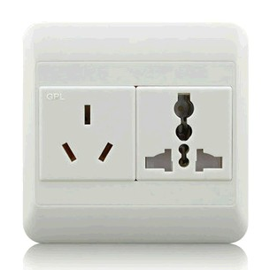 10A Socket Outlet & One Gang Universal Socket Outlet With Safety Shutter
