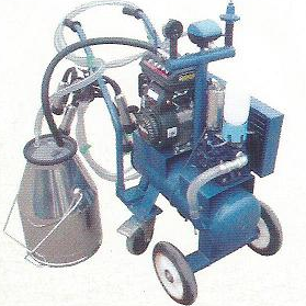 Vacuum Pump-typed Advanced Moblie Milking Machine(gasoline,diesel)