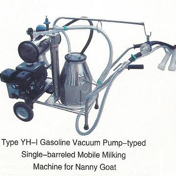Vacuum Pump-typed Advanced Moblie Milking Machine for Nanny Goat