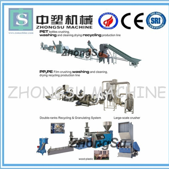 pet bottle washing recycling line ZS