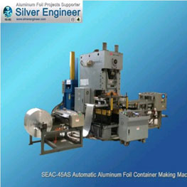 Automatic Aluminium Foil Container Production Line