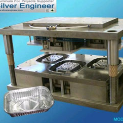 Aluminum Foil Container Cavities Mould