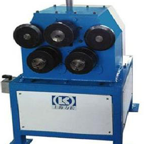 Angle steel bending machine