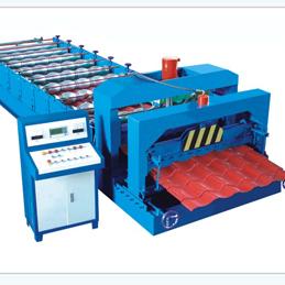 glazed tile roll forming machine (SL828-1035)
