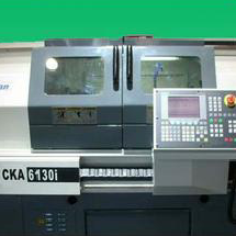 CKA6136i Flat Bed CNC Lathe For Cutting