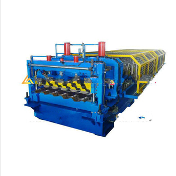 steel roofing tile forming machine