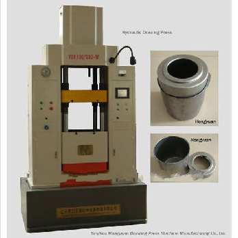 cnc hydraulic double-action drawing machine