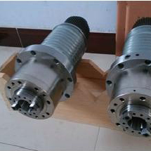 150HZ08-5.5KW-11 BT 40 150mm diameter cnc belt drive spindle for cnc machine center