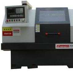Silver Bar Japan NSK Bearings Equipmment CNC Lathe CK6136