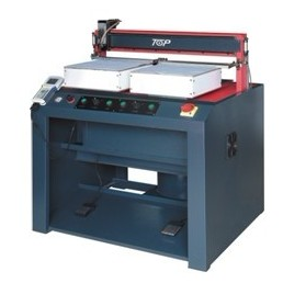 computer automatic gluing machine-for leather product